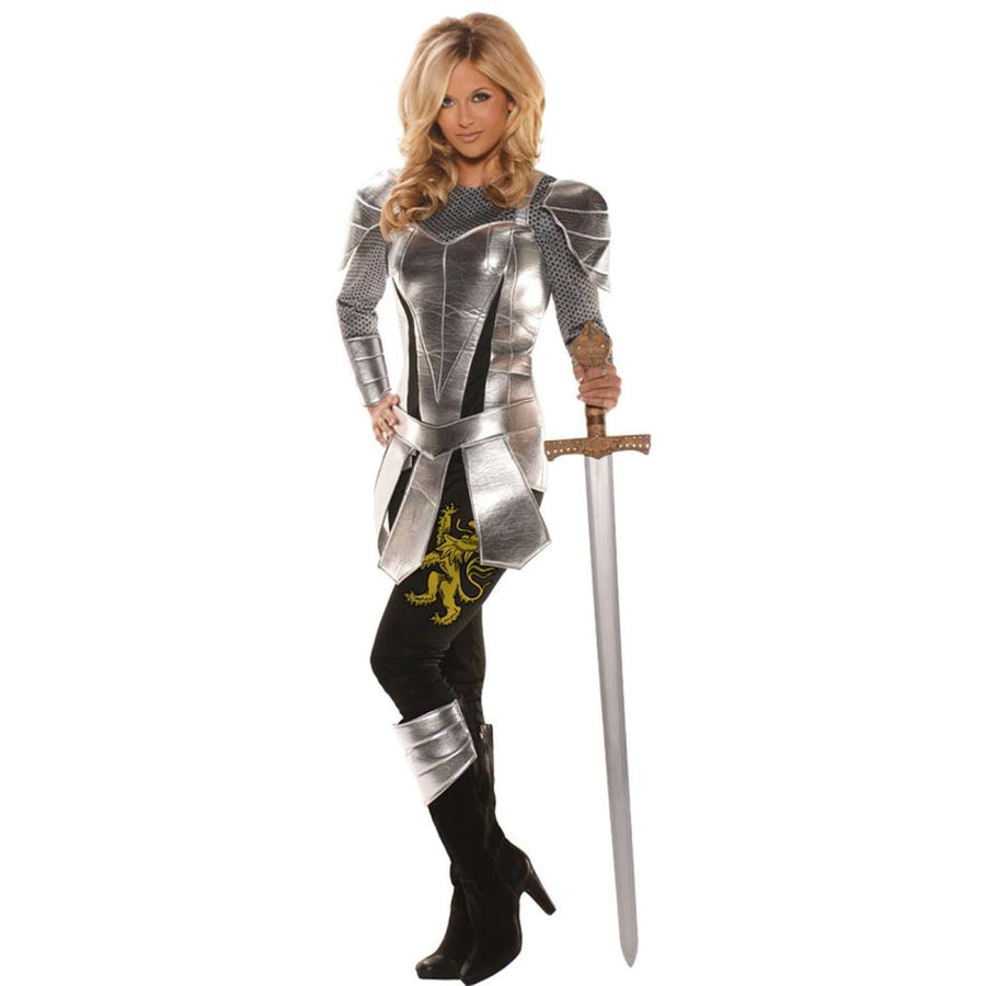 Knight To Remember Female Adult Costume Large - adult halloween costumes female