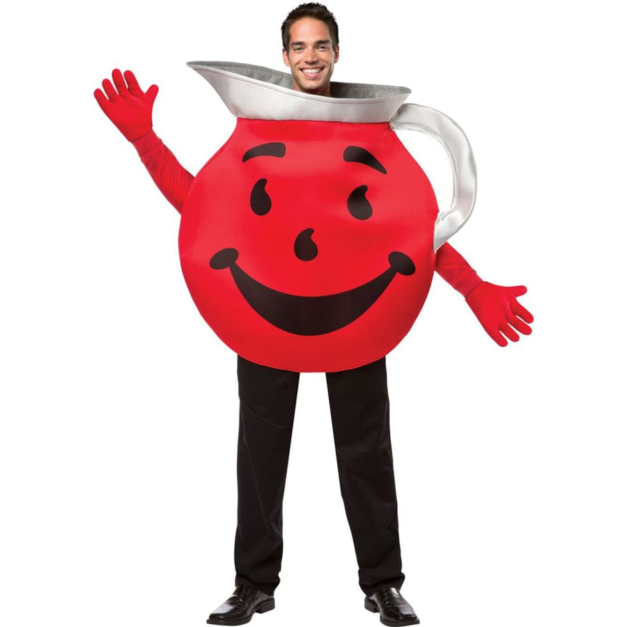 Kool Aid Guy Adult Costume - adult halloween costumes Food & Drink Costume
