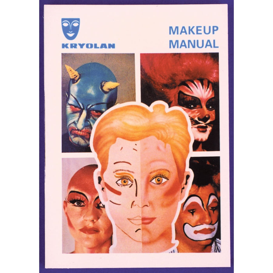Kryolan Make Up Manual - Costume Makeup Halloween costumes Halloween makeup
