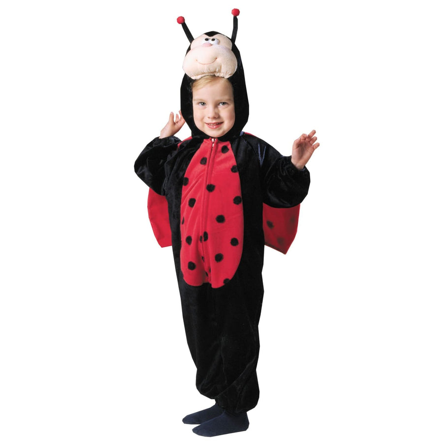 Ladybug Plush W Wings Toddler Costume 1 To 2 - Animal & Insect Costume Halloween