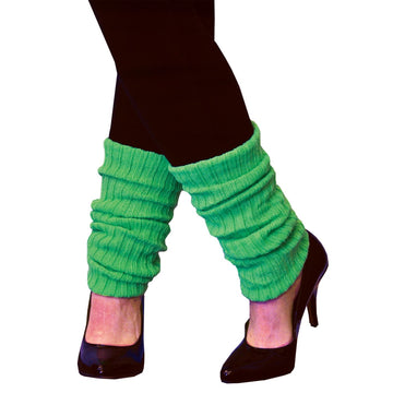 Leg Warmers Adult Neon Green - 80s Costume Halloween costumes Shoes & Boots