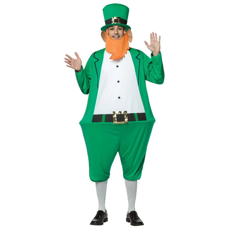 Leprechaun Hoopster Adult Costume - adult halloween costumes halloween costumes