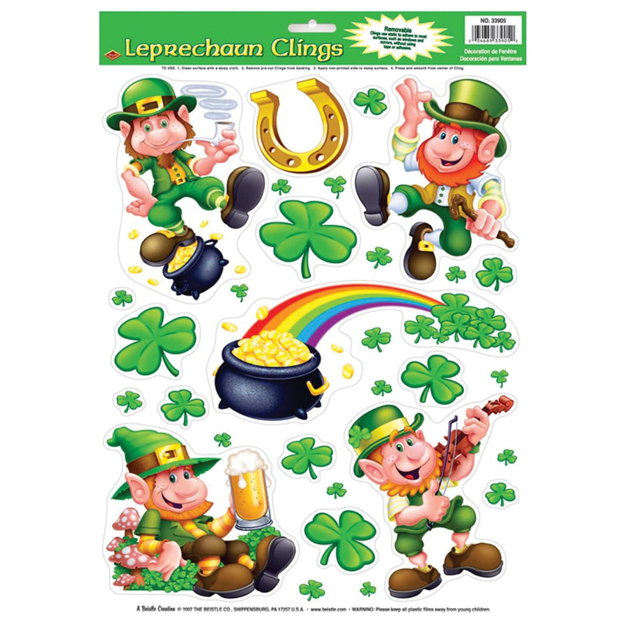 Leprechaun Shamrock Clings - Decorations & Props Halloween costumes haunted