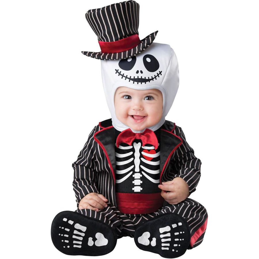 Lil Skeleton Baby Costume 6-12 Months - Halloween costumes Lil Skeleton Baby