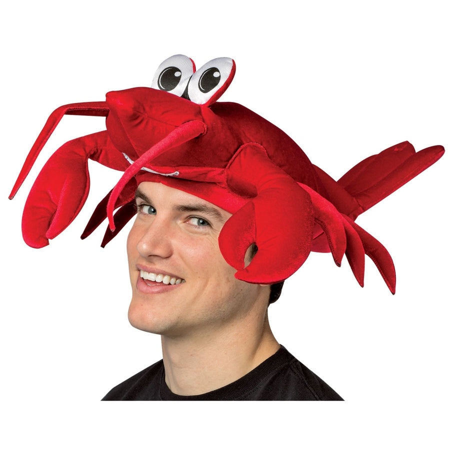 Lobster Adult Hat - Animal & Insect Costume Halloween costumes Hats Tiaras &
