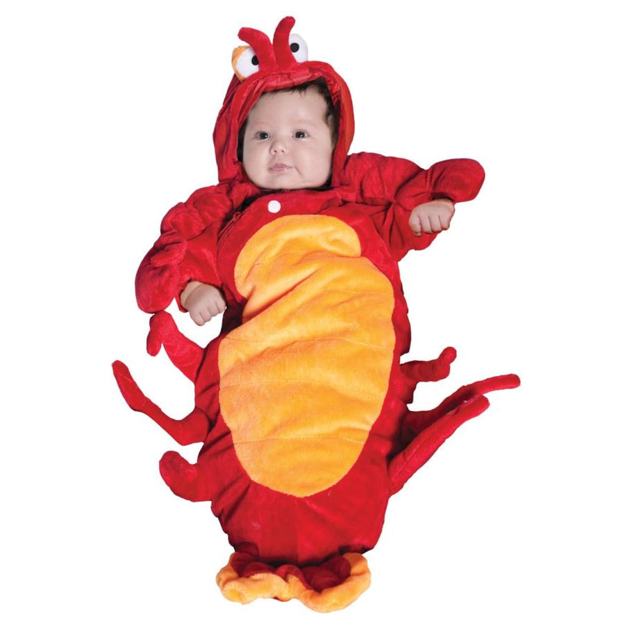 Lobster Bunting Infant Costume 0-6 Months - Animal & Insect Costume baby boy