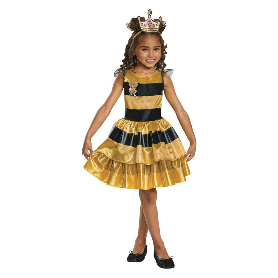 LOL Queen Bee Classic Girls Costume 7-8 - Girls Costumes New Costume