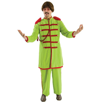 Lonely Hearts Green Mens Costume - Mens Costumes New Costume