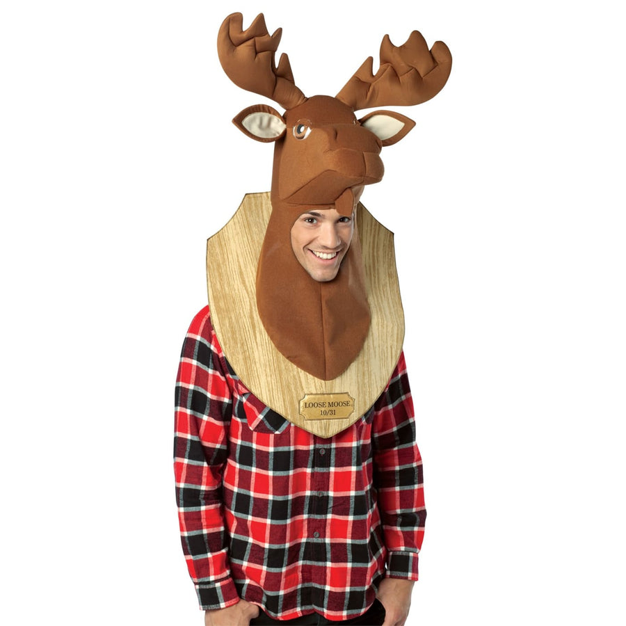 Loose Moose Trophy Adult - Halloween costumes