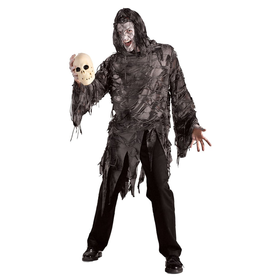 Lord Gruesome Mens Costume - adult halloween costumes Ghoul Skeleton & Zombie