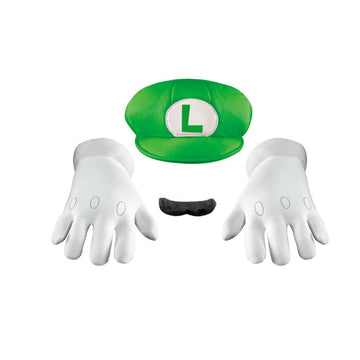 Luigi Accessory Adult Costume Accessory Kit - adult halloween costumes Game