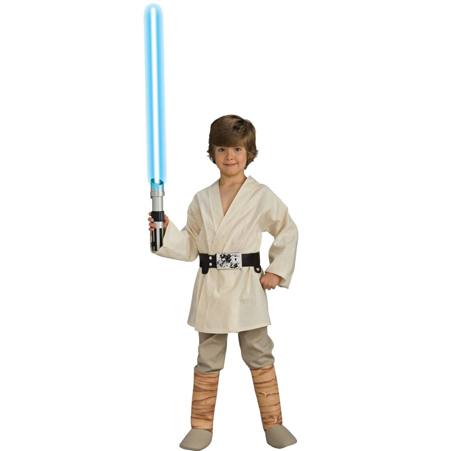 Luke Skywalker Deluxe Boys Costume Small - Boys Costumes boys Halloween costume