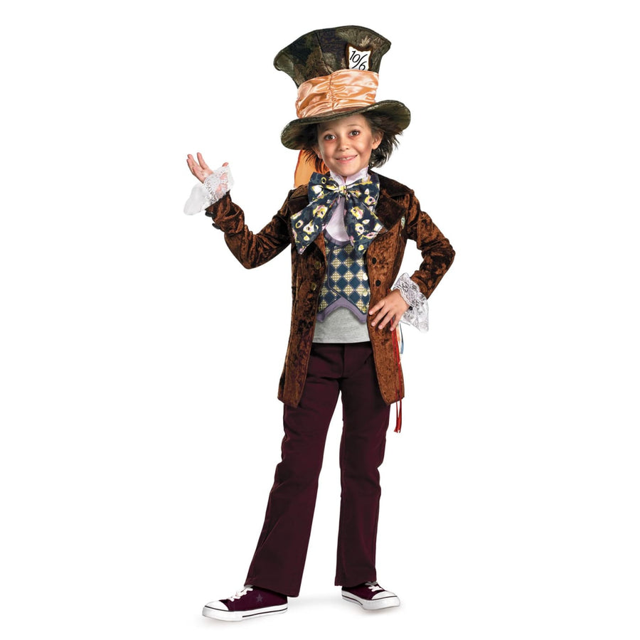 Mad Hatter Deluxe Boys Costume 4-6 - Alice in Wonderland Costume Boys Costumes
