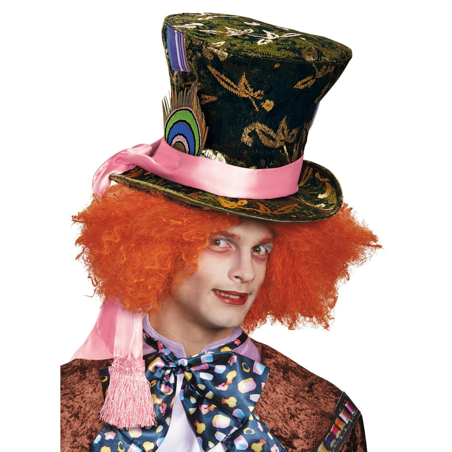 Mad Hatter Prestige Hat Adult - Alice in Wonderland Costume Fairytale Costume