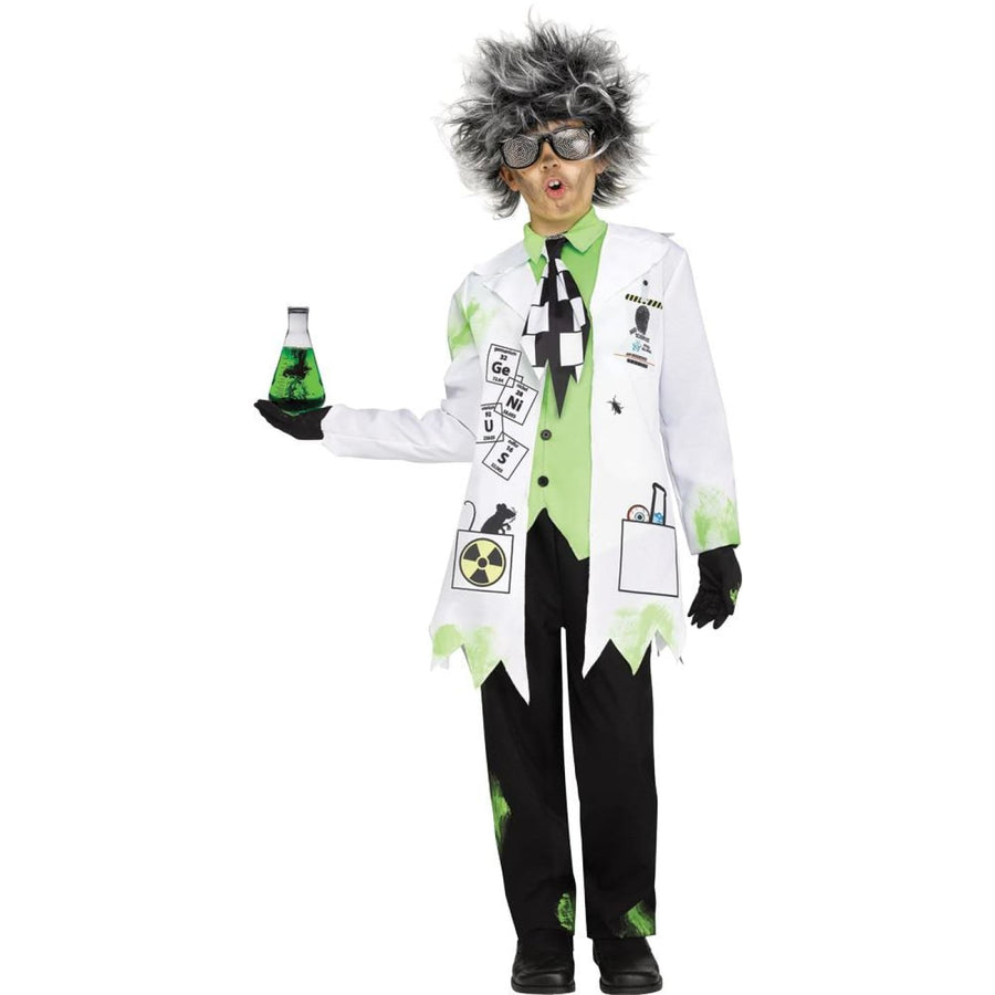 Mad Scientist Boy Boys Costume Sm 4-6 - Boys Costumes Halloween costumes Mad