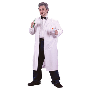 Mad Scientist Lab Coat - adult halloween costumes Doctor & Nurse Costume