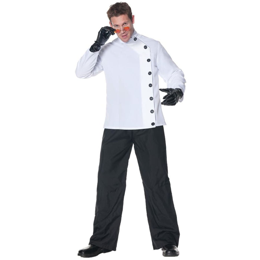 Mad Scientist Shirt Adult Costume - Doctor & Nurse Costume Halloween costumes