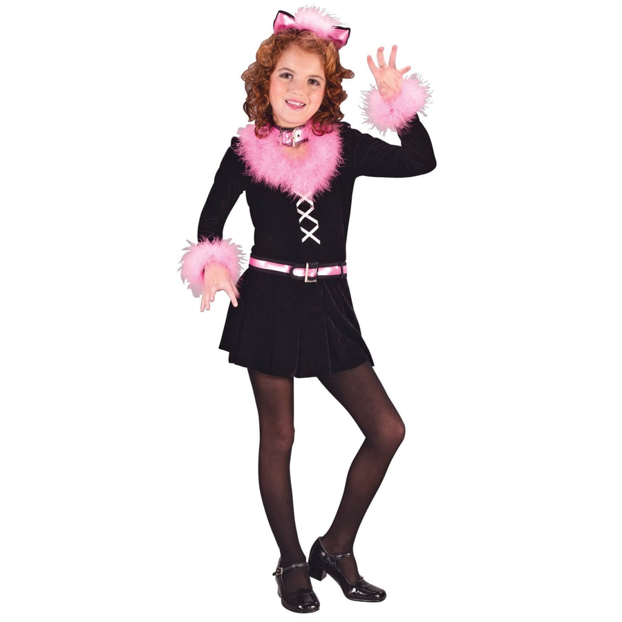 Marabou Cat Child Sm - Girls Costumes girls Halloween costume Halloween costumes