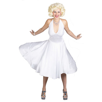 Marilyn Monroe Dlx Md-Lg 8-14 - adult halloween costumes female Halloween