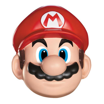 Mario Adult Costume Mask - Costume Masks Game Costume Halloween costumes