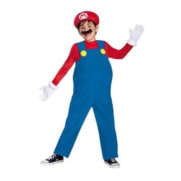 Mario Bros Deluxe Boys Costume Large 10-12 - Boys Costumes boys Halloween