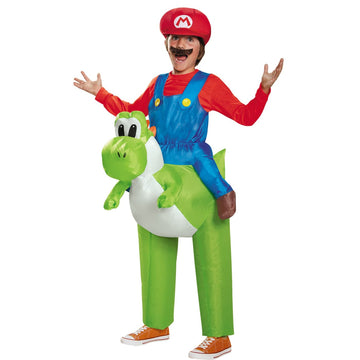 Mario Riding Yoshi Child Costume - Game Costume Halloween costumes Mario
