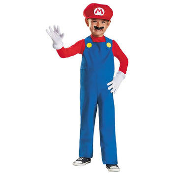 Mario Toddler Costume 3T-4T - Game Costume Halloween costumes Mario Brothers