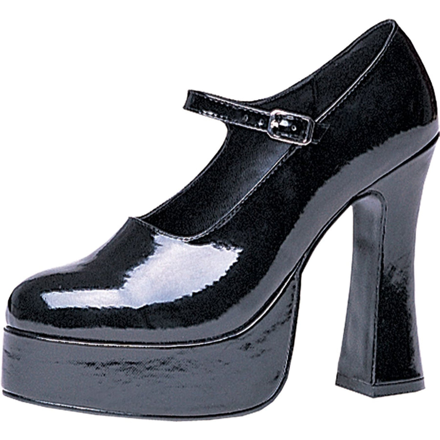 Mary Jane Black Platform Shoes Sz10 - Halloween costumes Holiday Costumes Shoes