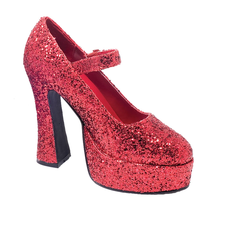 Mary Jane Red Platform Shoes Sz7 - Halloween costumes Mary Jane Red Platform