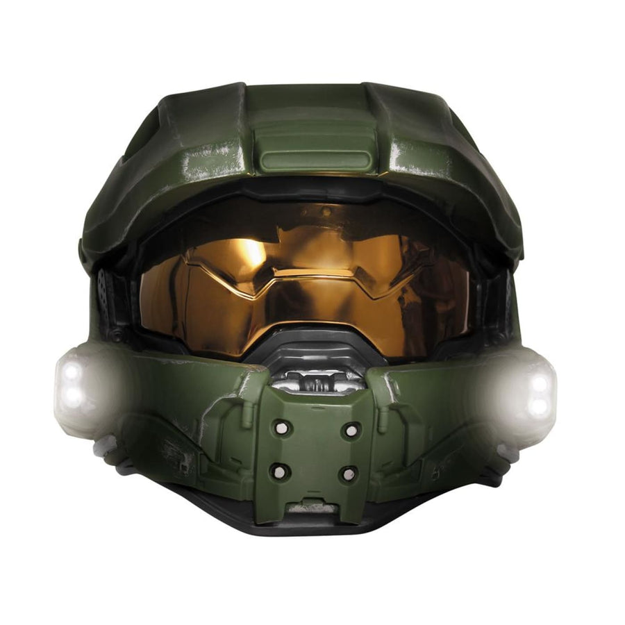 Master Chief Adult Lightup Mask - Costume Masks Halloween Mask rubber Mask scary