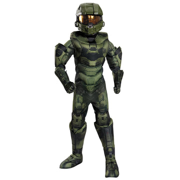 Master Chief Prestge Boys Costume Medium 7-8 - Boys Costumes boys Halloween