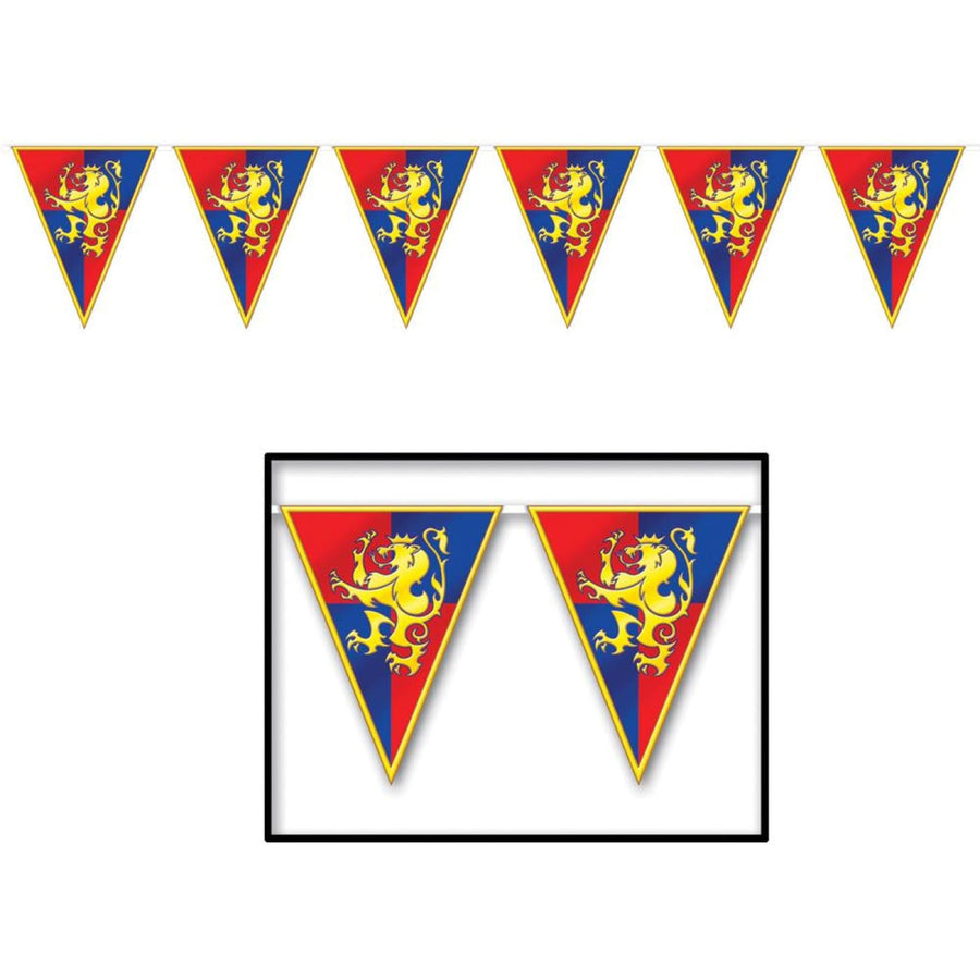 Medieval Banner 11Inx12Ft - Halloween costumes New Costume