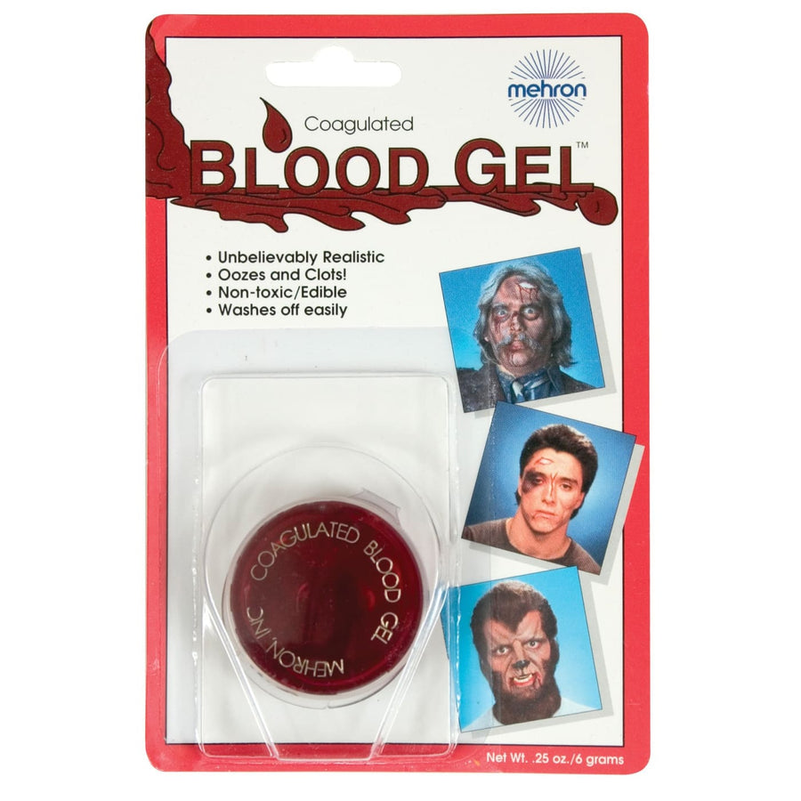 Mehron Coagulated Blood Gel 0.5 oz - Costume Makeup Gothic & Vampire Costume