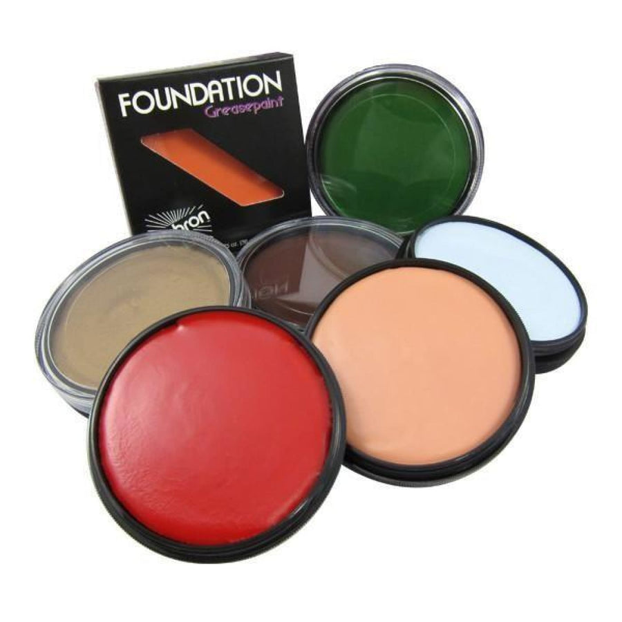 Mehron Foundation Greasepaint M Grey - Costume Makeup Halloween makeup