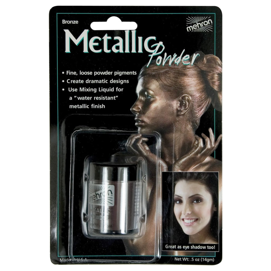 Metallic Bronze Body Paint Powder - Costume Makeup Halloween costumes Halloween
