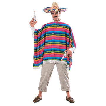 Mexican Serape - adult halloween costumes halloween costumes male Halloween