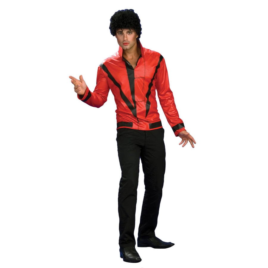 Michael Jackson Rd Thriller Jacket Dlx Adult Sm - adult halloween costumes