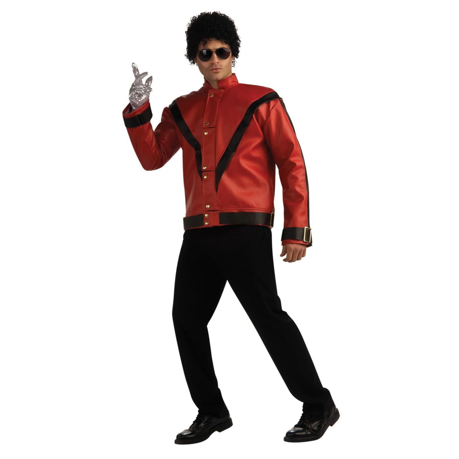 Michael Jackson Thriller Jacket Adult Lg - adult halloween costumes halloween