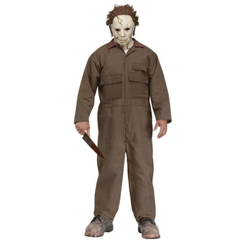 Michael Myers Mask And Mens Costume - adult halloween costumes halloween