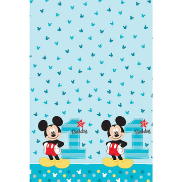 Mickey Mouse Party Table Cover - Birthday Party Decorations Birthday Party