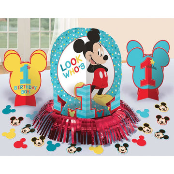 Mickey Mouse Party Table Decor Kit - Birthday Party Decorations Birthday Party