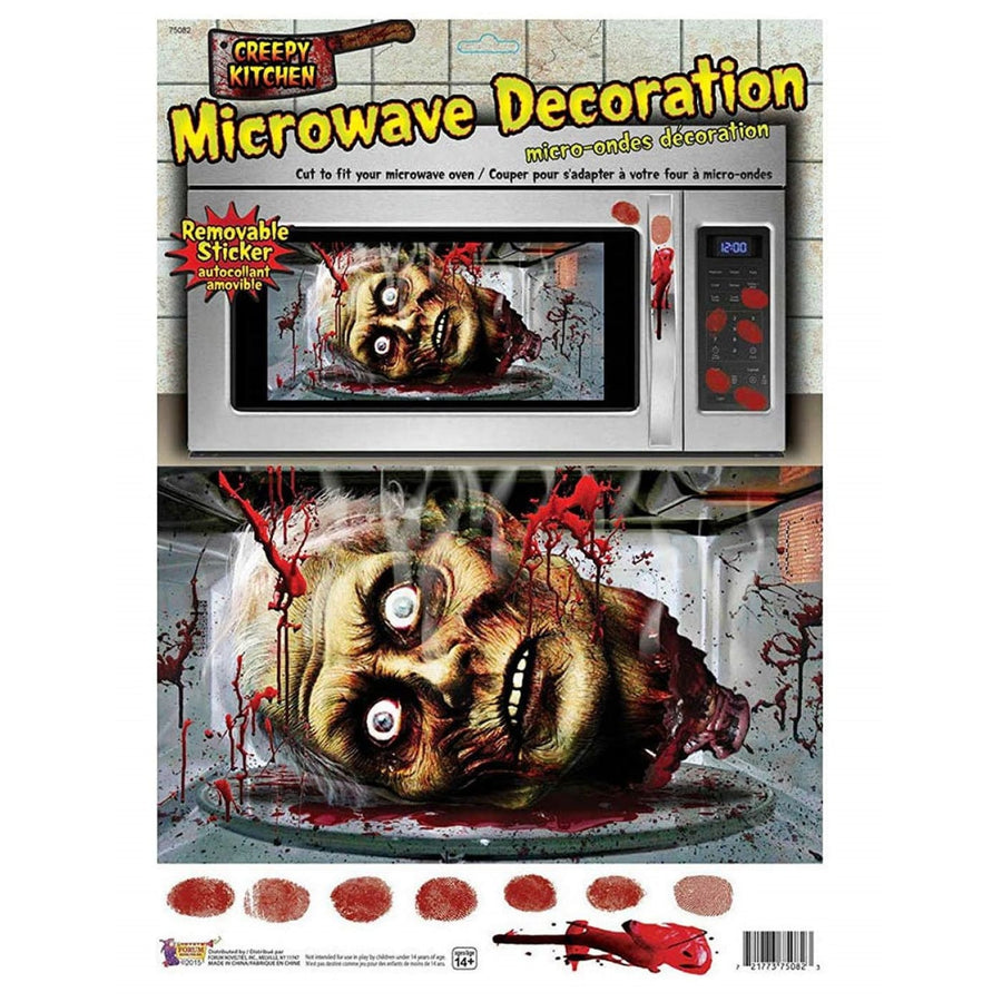 Microwave Decor Head - Halloween costumes New Costume Serial Killer Costume