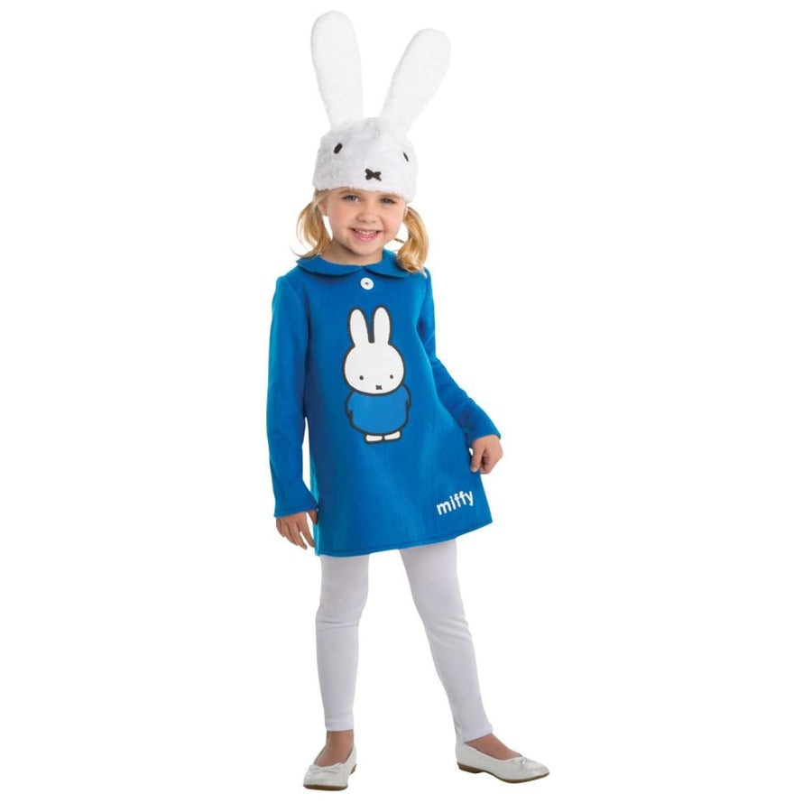 Miffy Blue Dress Toddler Costume 2T - Halloween costumes New Costume Toddler