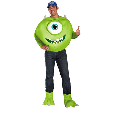 Mike Deluxe Adult Costume 50-52 - adult halloween costumes halloween costumes