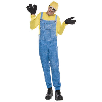 Minion Bob Adult Costume - adult halloween costumes Despicable Me Costume