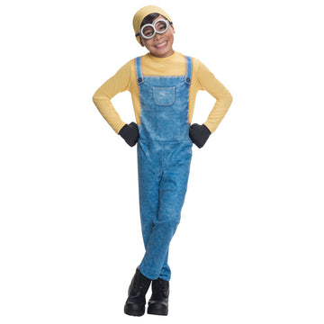 Minion Bob Boys Costume Medium - Boys Costumes boys Halloween costume Despicable