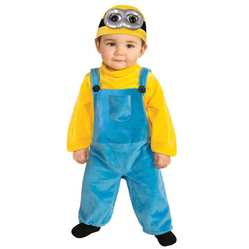 Minion Bob Toddler Costume 1T-2T - Despicable Me Costume Halloween costumes