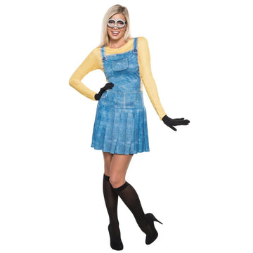 Minion Female Adult Costume Medium - adult halloween costumes Despicable Me