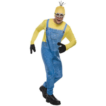 Minion Kevin Adult Costume - adult halloween costumes Despicable Me Costume