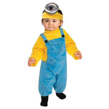 Minion Stuart Toddler Costume 1T-2T - Despicable Me Costume Halloween costumes
